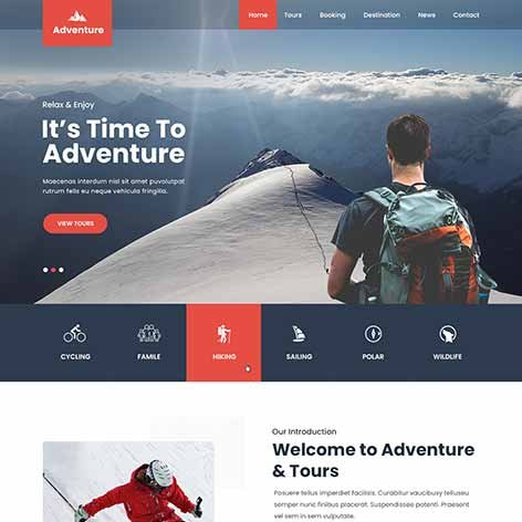 Adventure-WordPress-theme