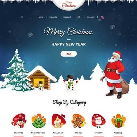 Christmas-WordPress-theme