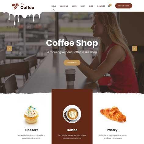 Coffee-WordPress-Theme