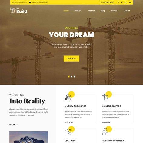 Construction-Company-WordPress-theme