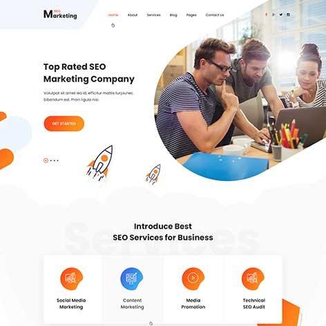 Digital-Agency-WordPress-theme
