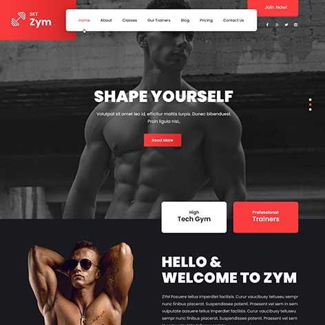 Fitness-WordPress-Theme