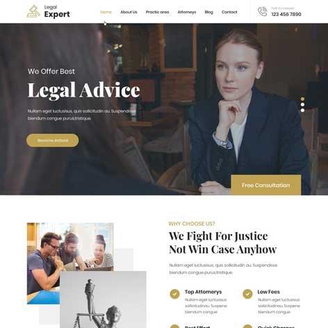 Legal-Firm-WordPress-theme