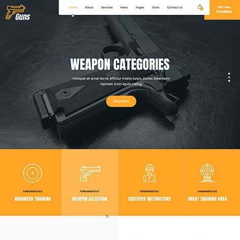 Military-WordPress-theme