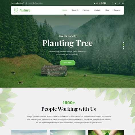 Nature-WordPress-Theme