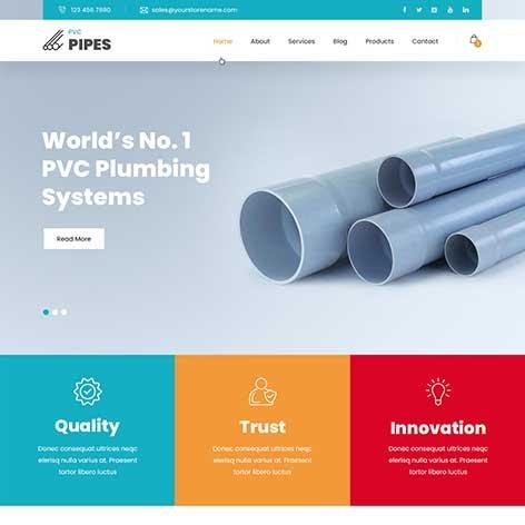 Plumbing-Store-WordPress-Theme