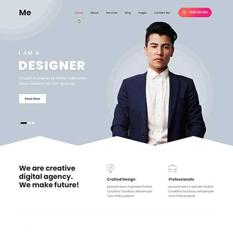 Resume-WordPress-theme