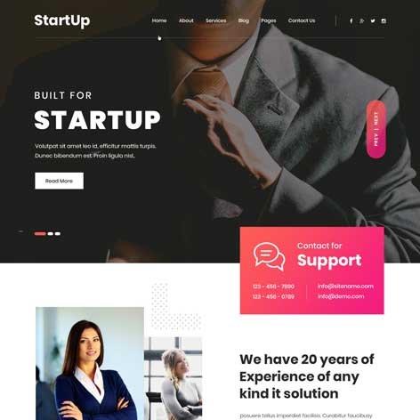 StartUp-WordPress-Theme