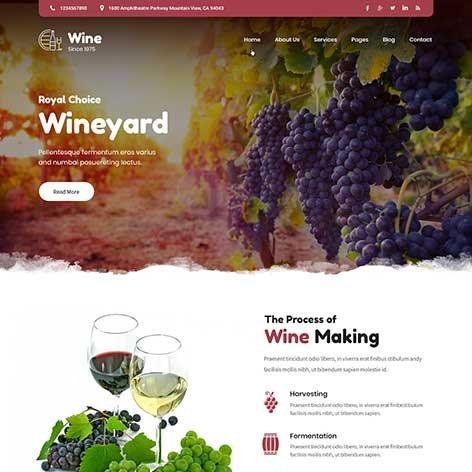Wine-and-Brewery-WordPress-theme