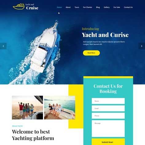Yacht-and-Cruise-WordPress-theme