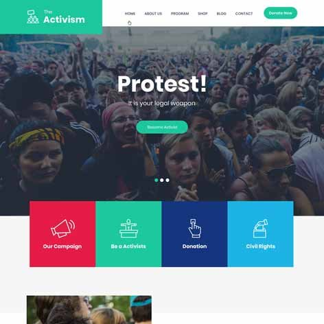 activism-wordpress-theme