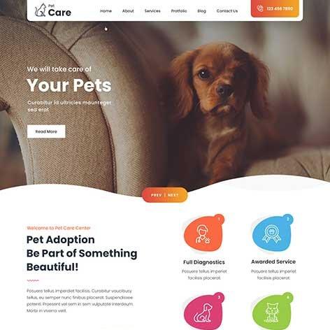 animal-WordPress-theme