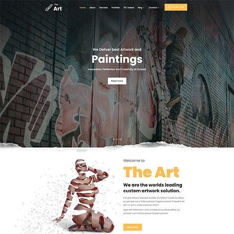 artists-wordpress-theme