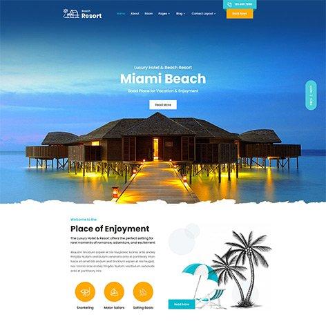 beach-resort-wordpress-theme