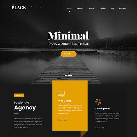 black-wordpress-theme