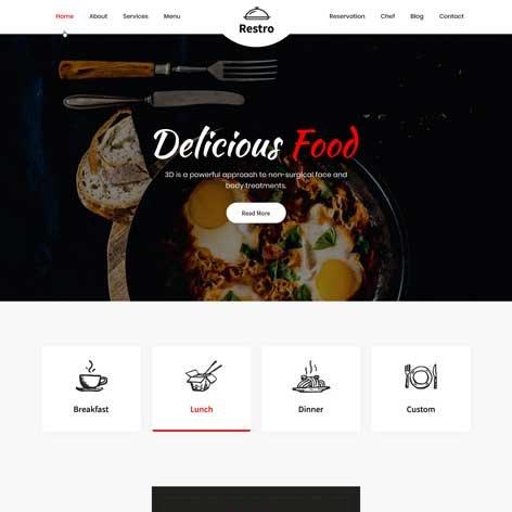 cafe-and-restaurant-WordPress-theme