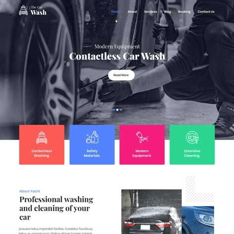 car-wash-WordPress-theme