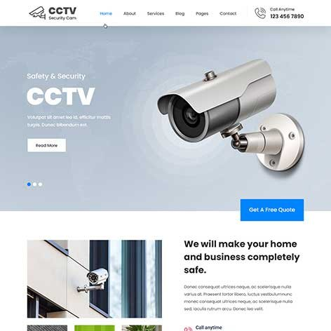 cctv-wordpress-theme