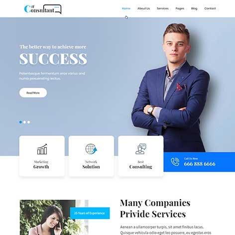 consultant-WordPress-theme