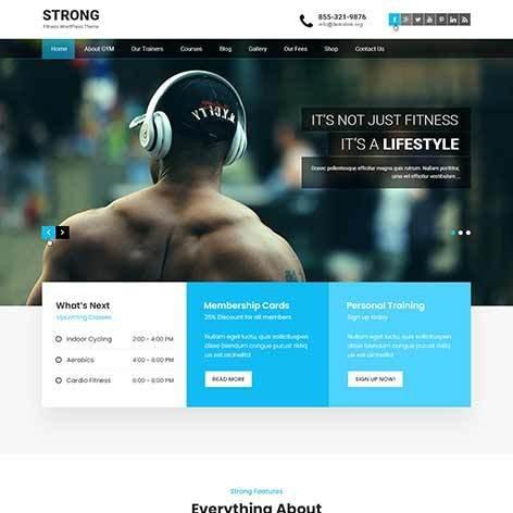 crossfit-WordPress-theme
