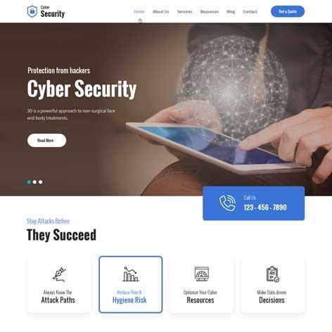 cyber-security-wordpress-theme