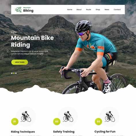 cycling-club-wordpress-theme