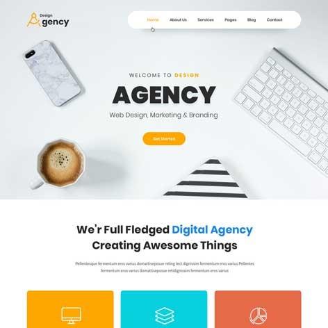 design-agency-wordpress-theme
