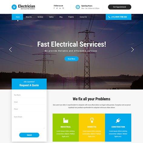 electrician-WordPress-theme1