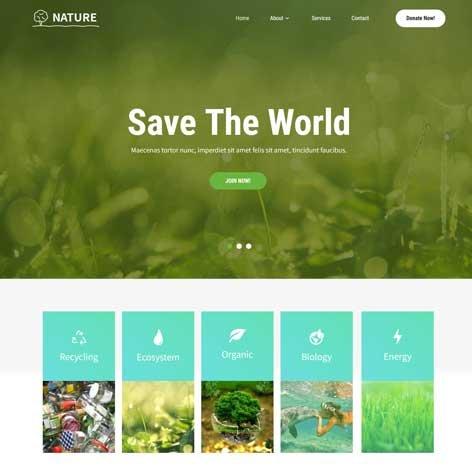 green-WordPress-theme