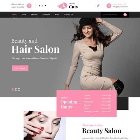 hairstyle-WordPress-theme