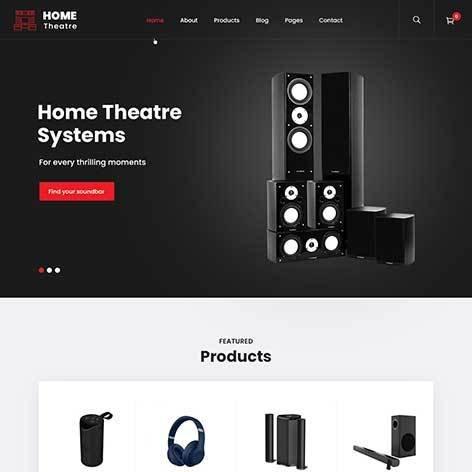 home-theater-WordPress-theme