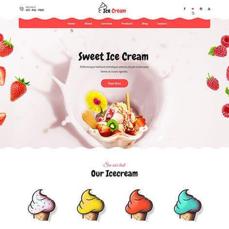 icecream-wordpress-theme