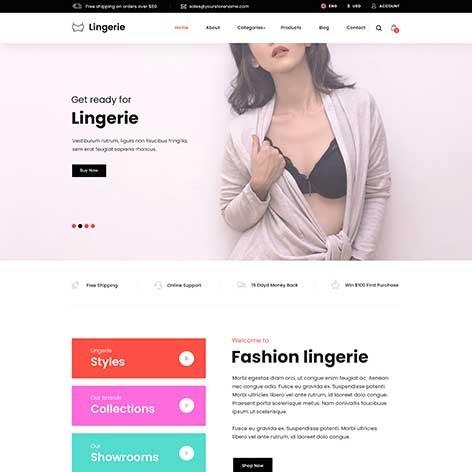 lingerie-wordpress-theme