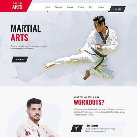martial-arts-wordpress-theme