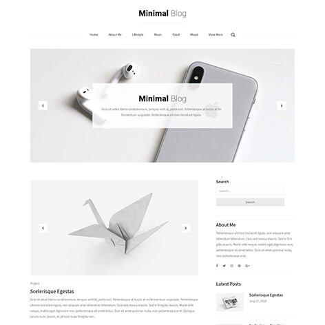 minimalist-blog-wordPress-theme1