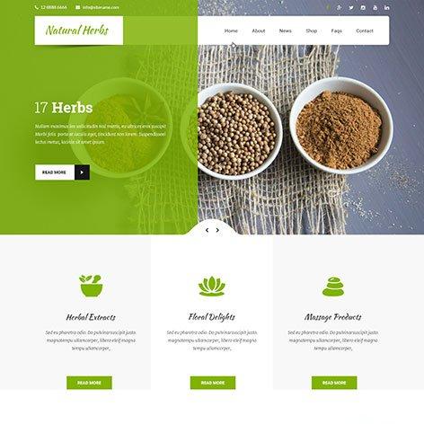 natural-wordpress-theme