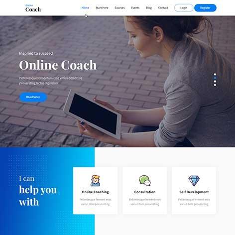 online-coach-WordPress-theme