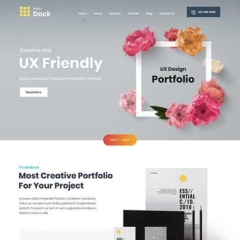 portfolio-WordPress-theme