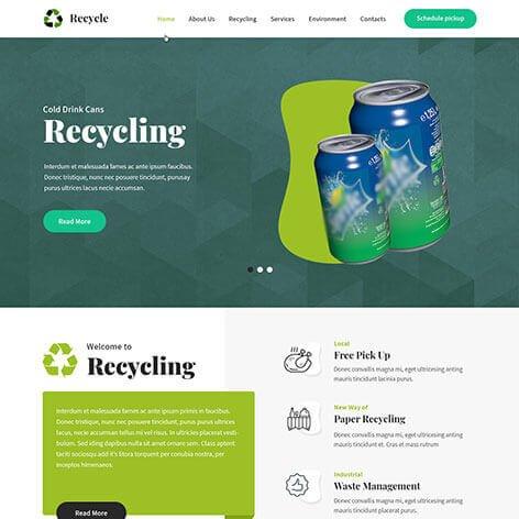 recycle-wordpress-theme