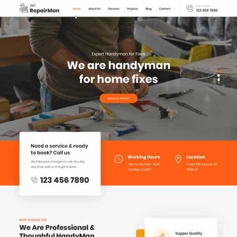 renovation-WordPress-theme