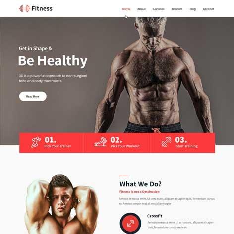 responsive-fitness-WordPress-theme